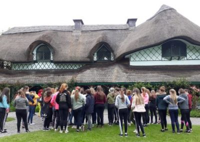 1st years history trip to Cahir Castle and Swiss Cottage on Tuesday, May 7, 2019