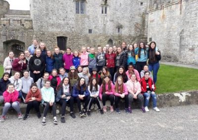 1st years history trip to Cahir Castle and Swiss Cottage on Tuesday, May 7, 2019.